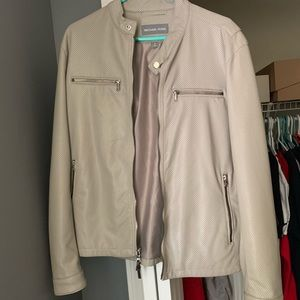 Michael Kors Faux Leather Jacket